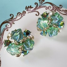 Vintage lisner rhinestone earrings - $21.78