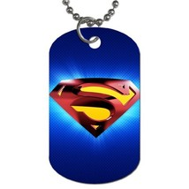 Custom Personalized Pet Dog Name Id Tag - Heroes Superman Pet Dog Name I... - $9.99