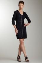 Andrew Marc Elbow Sleeve Lace Shirt Dress Sz 4 NWT $290 - $98.89