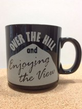 """RUSS BERRIE Vintage Coffee Mug Cup """"Over the Hill and Enjoying the View""""... - $24.74"""