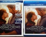 FAR FROM THE MADDING CROWD BLU RAY WITH SLIPCOVER SLEEVE FREE WORLDWIDE SHIPPING