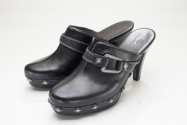 Cole Haan 7 Black Mules Womens Shoes - $48.00