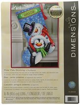 Dimensions Crafts Needlecrafts Needlepoint Stocking Kit Polar Pals D71-0... - $43.73