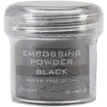 Blenders (Countertop) Ranger Embossing Powder 1Ounce Jar Super Fine Black - $12.44