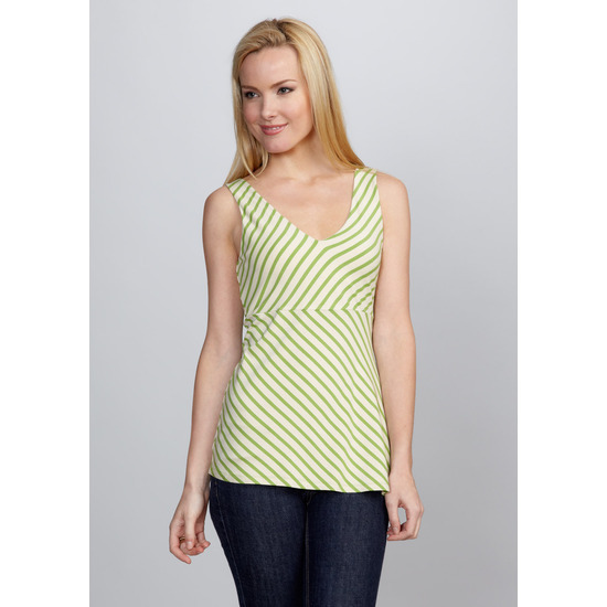 Yansi Fugel V neck Empire Seam Top  XSmall NWT $130