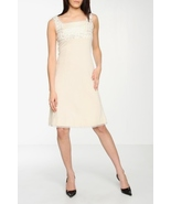 Signette by Aysha Seed A-Line Dress In Cream Sz 2 $325 - $69.00