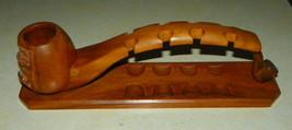 Mahogany 8 Pipe Holder - $109.00
