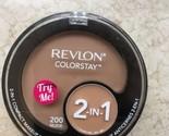 Revlon Colorstay 2-in-1 Compact Makeup & Concealer NUDE 200