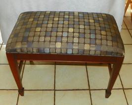 Mahogany Vanity Bench  (BN54) - £188.99 GBP