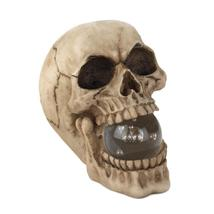 Skull with light up orb thumb200