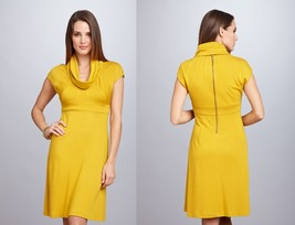 MUSE Cowl Neck Dress Sz 2 NWT $188 - $89.81
