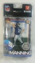 McFarlane Toys NFL Elite Eli Manning Blue Jersey New York Giants Figurin... - $49.49