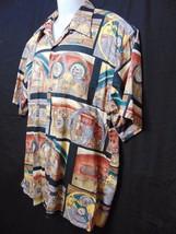 REYN SPOONER American Classics Mens Hawaiian Style Shirt Large Vette Car... - $52.00