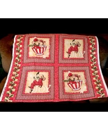 Christmas Merry Mice 4 Large Squares, Beth Yarb... - $27.77