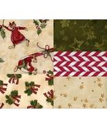 Christmas Merry Mice Bundle Darling Rare Quilt ... - $29.48