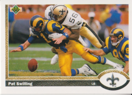 Pat Swilling 1991 Upper Deck Card #246 - $0.99