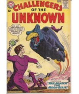 DC Challengers Of The Unknown #35 War Against The Moon Beast Action Adve... - $9.95
