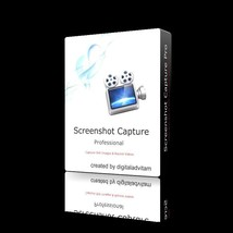 Screenshot Capture Software Program Grab Still Images & Record Video Win... - $10.88