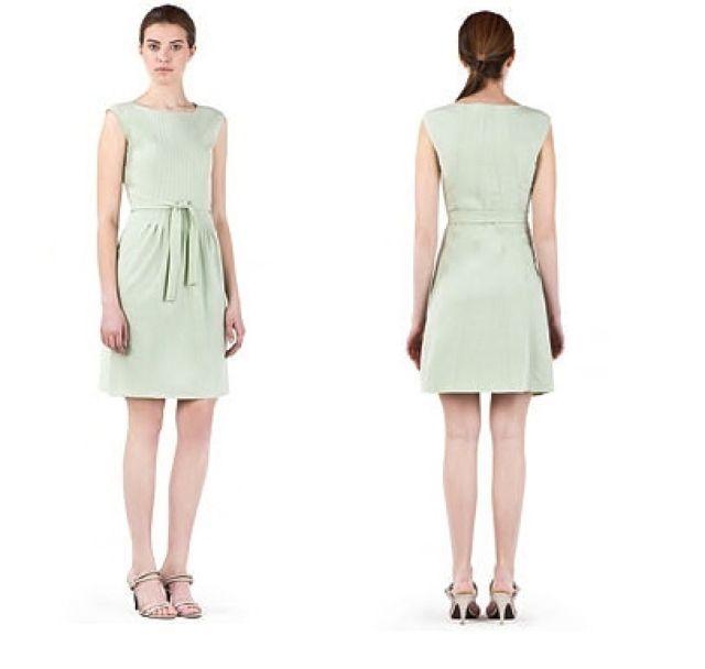 Calvin Klein Mint Pintuck Career Dress NWT- Size 2 $138