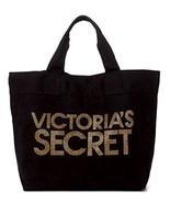 Victoria's Secret Gold Studs & Black Tote Bag - $50.00