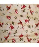 1 Yd Christmas Merry Mice Allover Print Very Ve... - $30.00