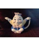 Humpty Dumpty Teapot Midwest Cannon Falls Ceramic Crossed Legs - $30.10
