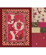 Christmas Merry Mice Very Rare Large Panel, Plu... - $54.77