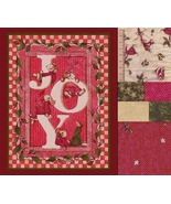 Christmas Merry Mice Fabric, Large Panel, Very ... - $54.77