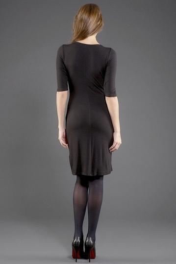 Tribute Ruffle Jersey Dress Size P- NWOT $170
