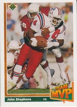John Stephens 1991 Upper Deck Team MVP Card #467 - $0.99
