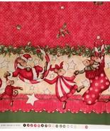 62'' x 15'' Merry Mice Border Print Piece, Extr... - $22.77