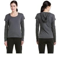 "prAna ""Gia"" Charcoal Layer Top Small NWT - $42.66"