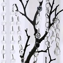 "5PCS 20"" Maple Leaf Hanging Acrylic Crystal Beads Garland Wedding Decorations - $6.40"