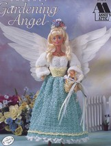Gardening Angel Crochet For Fashion Doll PATTERN/INSTRUCTIONS Annie's - $3.57