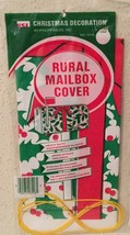 Christmas Holiday Mailbox Cover - Vintage New In Sealed Pkg - Fits Standard Box - $4.83