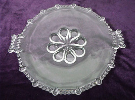Paden City Vermilion Clear Round Handled Serving Dish - $55.99