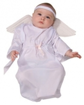 0-9 Months Babys Angel Bunting Halloween Costume - $15.00