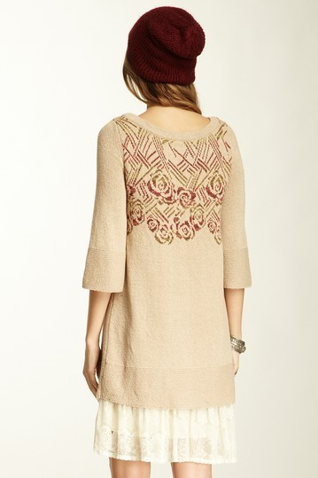 Free People Turn Back Time Sweater Tunic Small NWT