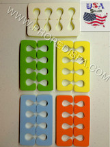 200pcs disposable Toe Finger Separators Manicure Pedicure Spa Foam Nail ... - $10.88