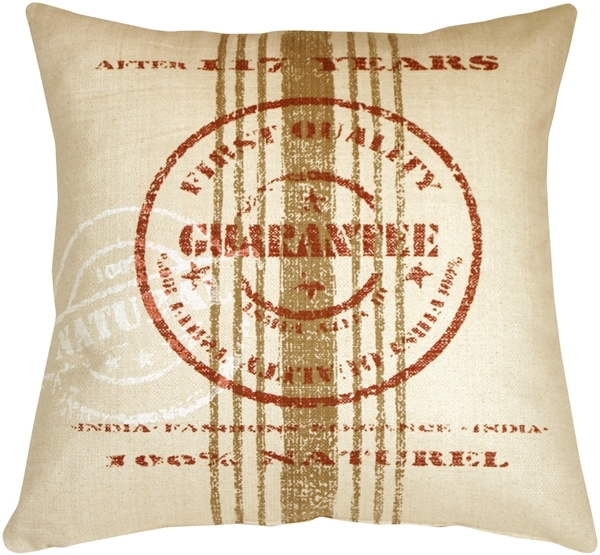 Pillow Decor - Quality Guarantee Red Print Throw Pillow