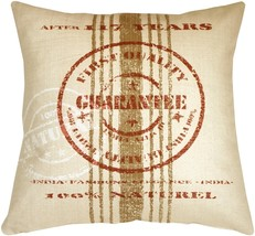 Pillow Decor - Quality Guarantee Red Print Throw Pillow - £53.41 GBP