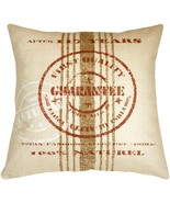 Pillow Decor - Quality Guarantee Red Print Throw Pillow - $69.95