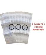 9 Eureka Sanitaire F&G Upright Vacuum Bags Koblenz + 3 Belts (9pk) - $13.29
