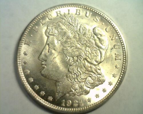 1921 MORGAN SILVER DOLLAR CHOICE UNCIRCULATED CH. UNC. NICE ORIGINAL COIN
