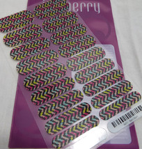 Jamberry Bam Bam A913 Activated Nail Wrap (Full Sheet ) Retired Design - $16.82
