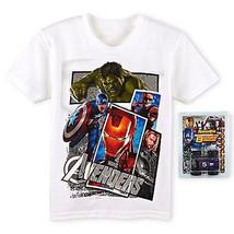 Marvel Avengers Iron Man Hulk Comfort Tee T Shirt & Toy Set Boys Size 4 Or 7 $18 - $7.20
