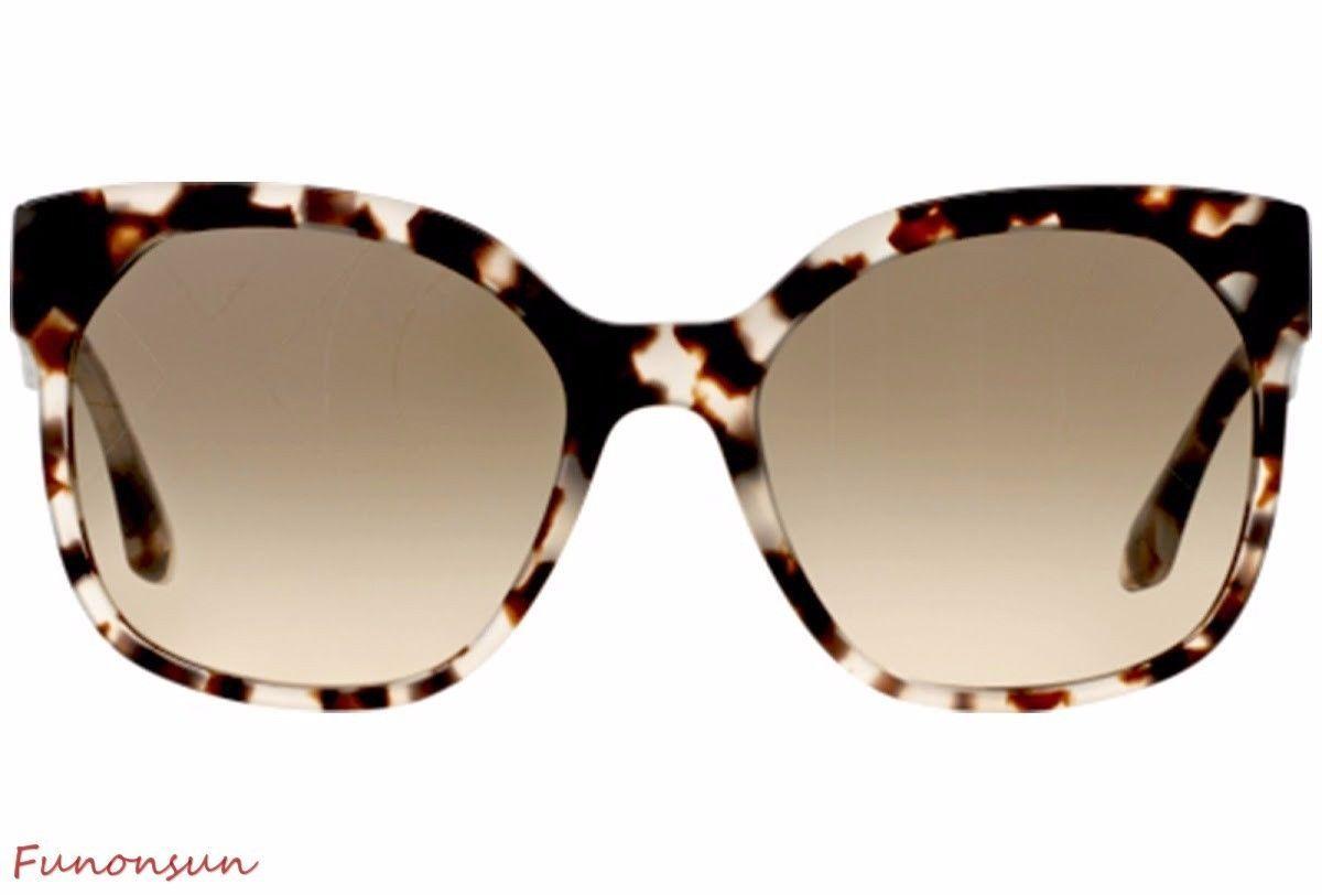 Prada Voice Women's Sunglasses PR10RS UAO3D0 Opal Brown/Brown Gradient Grey Lens image 2