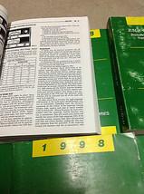 1998 JEEP WRANGLER Service Shop Repair Manual Set OEM FACTORY W PT & BODY DIAG image 2