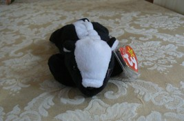 "Rare TY Original Beanie Babies "" Stinky "" The Skunk Errors- #4017-Retire... - $197.99"