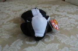 "Rare TY Original Beanie Babies "" Stinky "" The Skunk Errors- #4017-Retire... - $197.99"